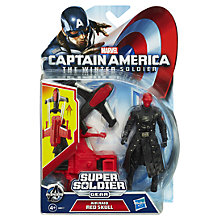 Buy Marvel Captain America Winter Soldier: Air Raid Red Skull Figure Online at johnlewis.com