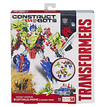 Buy Transformers 4: Age Of Extinction Construct-Bots, Optimus Prime & Gnaw Dino Online at johnlewis.com