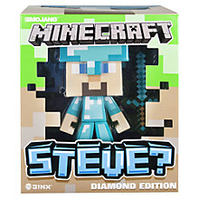 Buy Minecraft Vinyl Steve Action Figures, Assorted Online at johnlewis.com