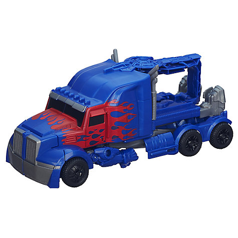Buy Transformers 4: Age Of Extinction Optimus Prime Transforming Figure Online at johnlewis.com