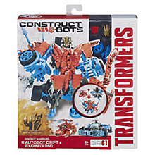 Buy Transformers 4: Age Of Extinction Construct-Bots, Autobot Drift & Roughneck Dino Online at johnlewis.com