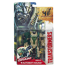 Buy Transformers 4: Age Of Extinction Quick Draw Autobot Hound Online at johnlewis.com