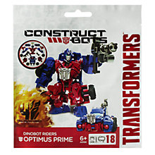 Buy Transformers 4: Age Of Extinction Optimus Prime Construct-Bots Rider Online at johnlewis.com