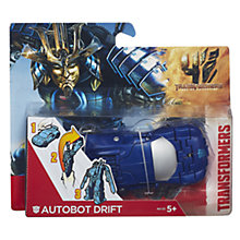 Buy Transformers 4: Age Of Extinction Autobot Drift Figure Online at johnlewis.com