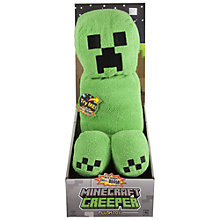 Buy Minecraft Creeper Plush Toy Online at johnlewis.com