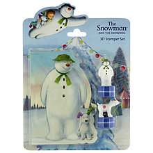 Buy The Snowman And The Snowdog Stamper Set Online at johnlewis.com