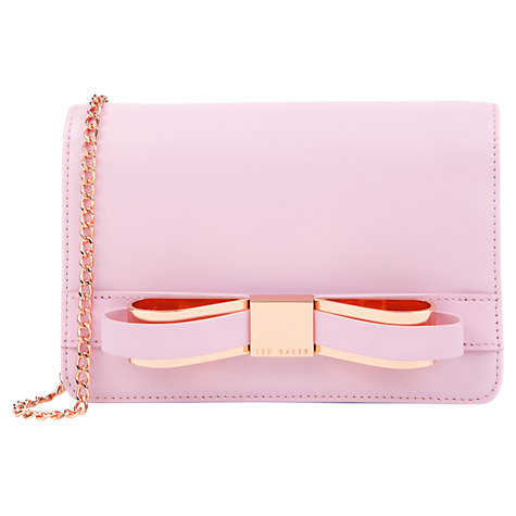 Buy Ted Baker Ailey Bow Detail Leather Bag Online at johnlewis.com