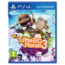 Buy Little Big Planet 3, PS4 Online at johnlewis.com