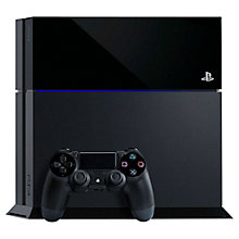 Buy Sony PlayStation 4 Console, 500GB, BLACK & Metal Gear Solid V:The Phantom Pain Online at johnlewis.com