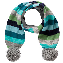 Buy Donna Wilson for John Lewis Stripe Scarf, Green/Multi Online at johnlewis.com