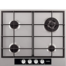 Buy AEG HG654440SM Gas Hob, Stainless Steel Online at johnlewis.com