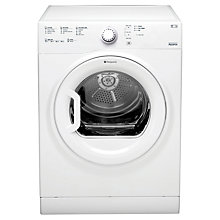 Buy Hotpoint TVFS83CGP Vented Tumble Dryer, 8kg Load, C Energy Rating, White Online at johnlewis.com