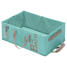 Buy Beaba Folding Baby Bath, Blue Online at johnlewis.com