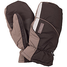 Buy Calvin Klein Golf Winter Thermolite Mittens, One Size, Brown Online at johnlewis.com