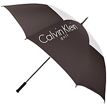 Buy Calvin Klein Golf New Stormproof Vented Umbrella Online at johnlewis.com