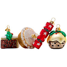 Buy Bombki Little English Christmas Ornaments, Set of 4 Online at johnlewis.com