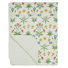 Buy Morris & Co Daisy Bedspread Online at johnlewis.com