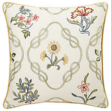 Buy Morris & Co Daisy Cushion Online at johnlewis.com