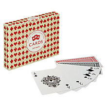Buy John Lewis Classic Playing Cards, Pack of 2 Online at johnlewis.com