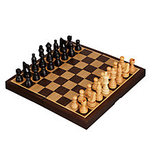 Buy John Lewis Classic Chess Set, Small Online at johnlewis.com