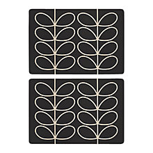 Buy Orla Kiely Linear Placemats, Set of 2 Online at johnlewis.com