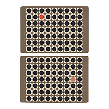 Buy Orla Kiely Flower Placemats, Set of 2 Online at johnlewis.com