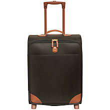 Buy Bric's Life 54cm 2-Wheel Cabin Suitcase, Olive Online at johnlewis.com