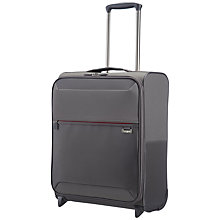 Buy Samsonite Short-Lite 2-Wheel 50cm Cabin Suitcase, Grey Online at johnlewis.com