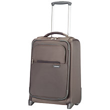 Buy Samsonite Lumo 50cm 2-Wheel Cabin Suitcase, Bronze Online at johnlewis.com