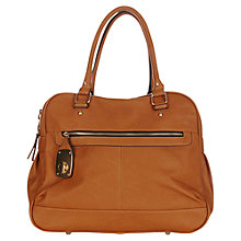 Buy Oasis Lock Danielle Bag, Tan Online at johnlewis.com