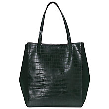 Buy French Connection Melissa Shopper Bag, Green Online at johnlewis.com