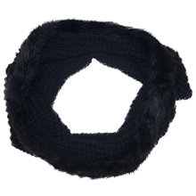 Buy French Connection Libby Fur Edge Snood Online at johnlewis.com