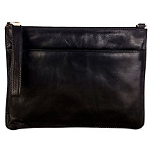 Buy Oasis Stephanie Leather Clutch Bag Online at johnlewis.com