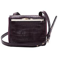 Buy French Connection Camila Across Body Bag, Wine Online at johnlewis.com
