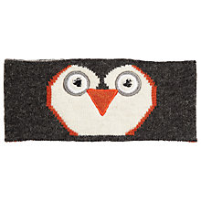 Buy John Lewis Penguin Headband, Grey Online at johnlewis.com
