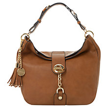 Buy Dune Dobbly Ring Detail Bag, Tan Online at johnlewis.com