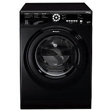 Buy Hotpoint SWMD10437K Washing Machine, 10kg Load, A+++ Energy Rating, 1400rpm Spin, Black Online at johnlewis.com