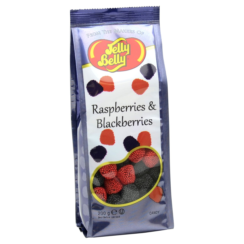 Jelly Belly Jelly Belly Rasberries & Blackberries Bag, 200g