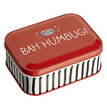 Buy Happy Jackson Bah Humbug Sweet Tin, 100g Online at johnlewis.com