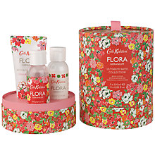Buy Cath Kidston Flora Pink Geranium Ultimate Bath Collection Gift Set Online at johnlewis.com