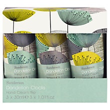 Buy Heathcote & Ivory Dandelion Clocks Hand Cream Trio, 3 x 30ml Online at johnlewis.com