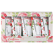 Buy Cath Kidston Rose Essentials Collection, 5 x 50ml Online at johnlewis.com