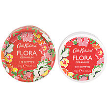 Buy Cath Kidston Flora Pink Geranium Lip Butter, 20g Online at johnlewis.com
