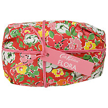 Buy Cath Kidston Flora Pink Geranium Wrapped Soap, 170g Online at johnlewis.com
