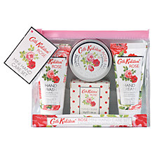 Buy Cath Kidston Rose Mini Hand Care Set Online at johnlewis.com