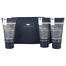 Buy Heathcote & Ivory Men's Fine Grooming Ultimate Grooming Travel Bag Online at johnlewis.com