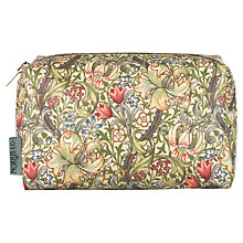 Buy Heathcote & Ivory Morris & Co. Golden Lily Cosmetics Bag Online at johnlewis.com