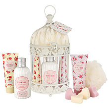 Buy Heathcote & Ivory Vintage Collection Enchanted Birdcage With Assorted Pampering Treats Online at johnlewis.com