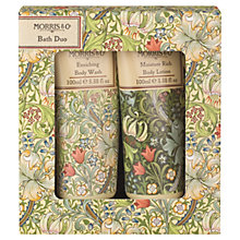 Buy Heathcote & Ivory Morris & Co Golden Lily Bath Duo Gift Set Online at johnlewis.com