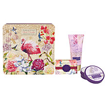 Buy Heathcote & Ivory Secret Paradise Hand & Body Treats in Decorative Tin Online at johnlewis.com